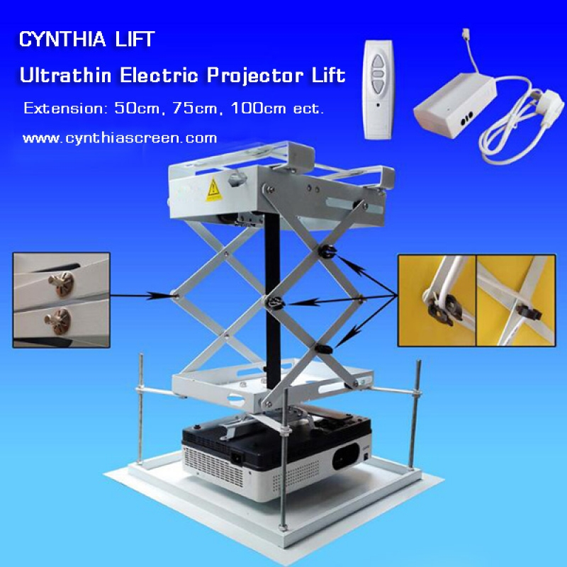 Cynthia Lift Running Distance 1500cm Ceiling Recessed