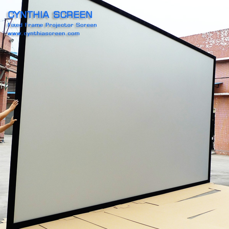 Cynthia Screen Perfectly Fixed Frame Projector Screens 106 Inch ...