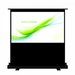 Cynthia Screen Scissor Type Stand Pull Up Portable Projection Screen 100""