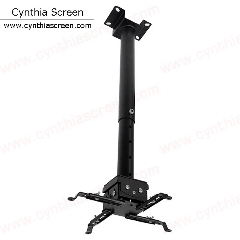 Cynthia Screen Height Adjustment Up To 150cm Ceiling Recessed Projector Mount Brackets
