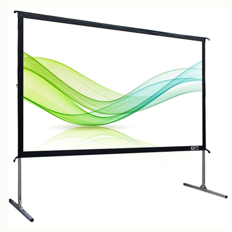 Brand New Flexible White PVC Screen Material Fast Fold Projector ...